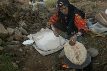 Transhumance avec les nomades au Maroc