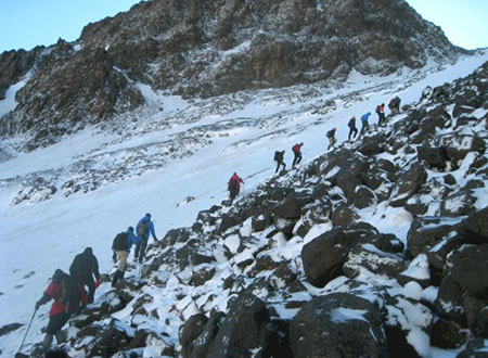 Ascension Toubkal et djebel Ouanoukrim