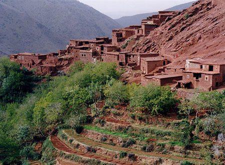 De Marrakech aux villages de l'Atlas