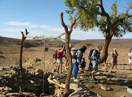 Trek sud marocain, sur la piste des caravanes