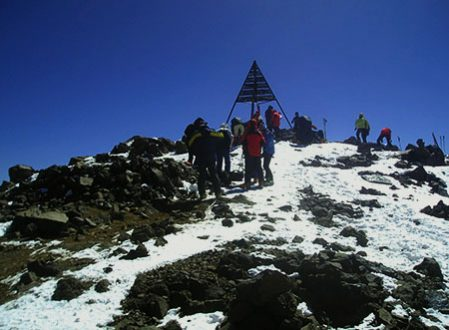 Ascension express du Toubkal