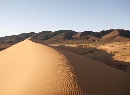 Zireg, désert des nomades Ait Kebbach