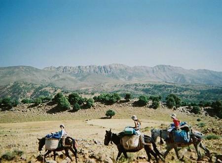 En famille dans la vallée des Bougmez