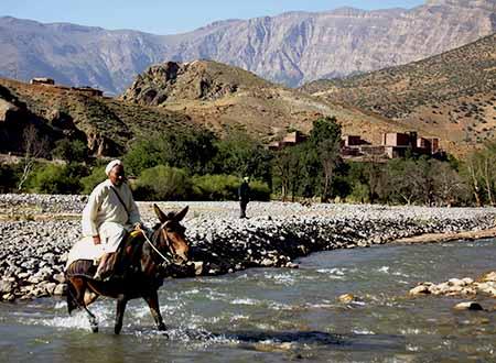 La vallée d'Anergui, un Maroc authentique
