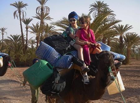 Petit nomade de la vallée du Draa