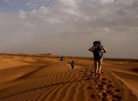 Rando Qi Gong désert Maroc