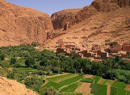 Tassili du Maroc et sables du désert