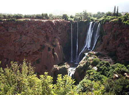 Excursion cascades d'Ouzoud