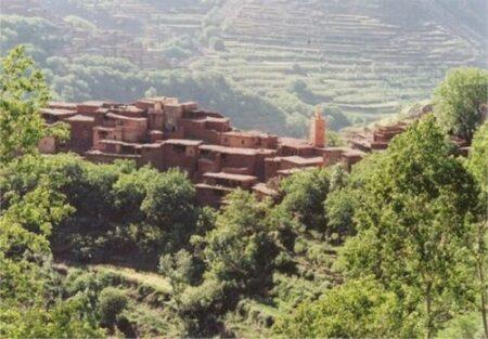 Le Toubkal et la vallee d Azzadene