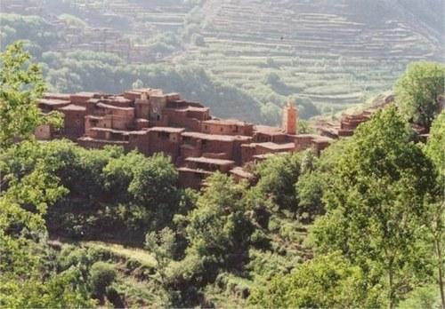 Le Toubkal & la vallée d'Azzadene