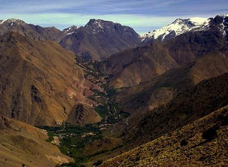 Toubkal vallee Imenane