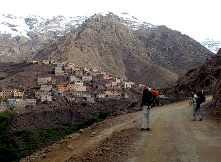 Journée trekking haute vallée du Toubkal