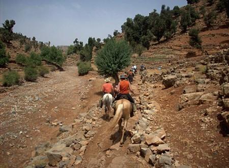Excursion à cheval Haut Atlas