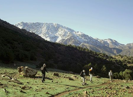 Excursion Toubkal et la vallée d'Azzadene