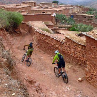 Excursion VTT villages Toubkal