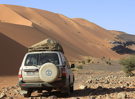 Escapade desert marocain