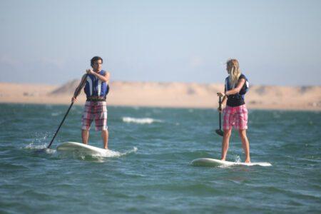 Kitesurf-windsurf-surf. Activites sportives à Dakhla