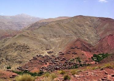 Trek Mgoun et hautes vallées de l'Atlas