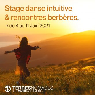Stage danse intuitive atlas marocain