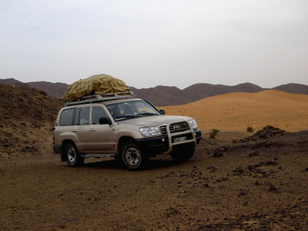 circuit 4X4 desert marocain
