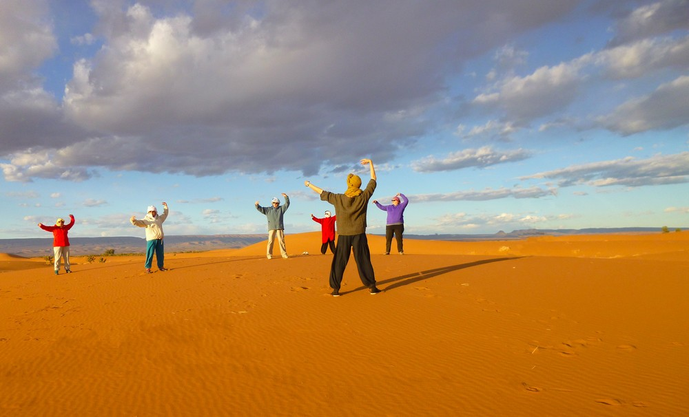Stage Qi Gong désert Maroc
