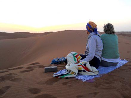Stage yoga désert du maroc